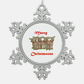 glad christmoose julgransdekorationer
