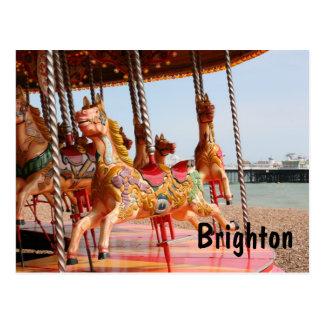 Glad-gå-runda Brighton Vykort