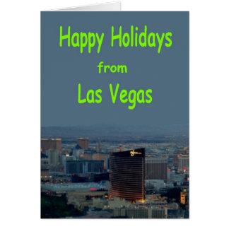 Glad helg från det Las Vegas kortet Hälsnings Kort