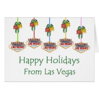 Glad helg från det Las Vegas kortet Hälsningskort