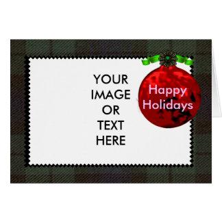 Glad helg mallen 1a för MUSEUMZazzle gåvor Hälsningskort