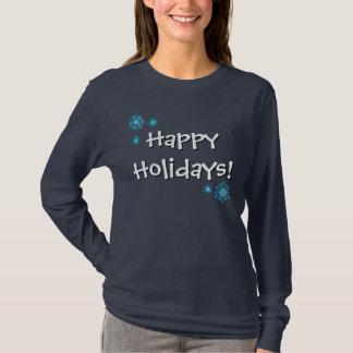 Glad helgAutismmedvetenhet - mörk skjorta T Shirts
