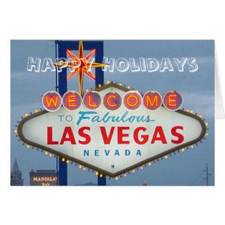 Glad helgLas Vegas kort