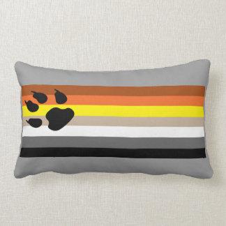 Glad kudde för björnprideflagga