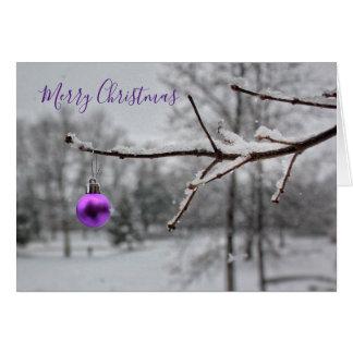 Glad lite jul (kortet) hälsningskort