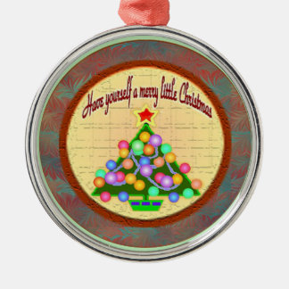 Glad lite julprydnad julgransprydnad metall