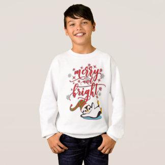 Glad & ljus pingvin t shirt
