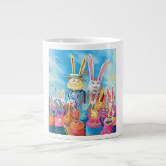 Glad påsk jumbo mugg