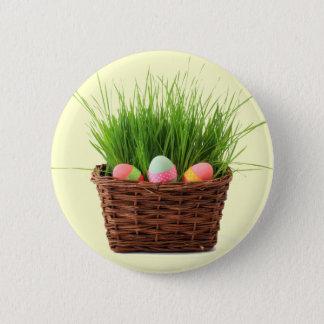 Glad påsk knäppas standard knapp rund 5.7 cm