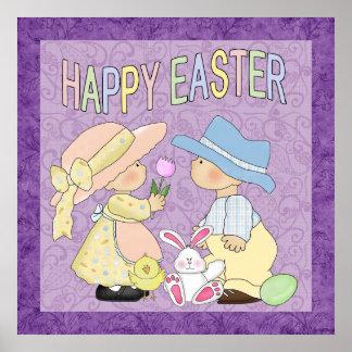 Glad påsk Poater Poster