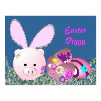 Glad påsk vykort