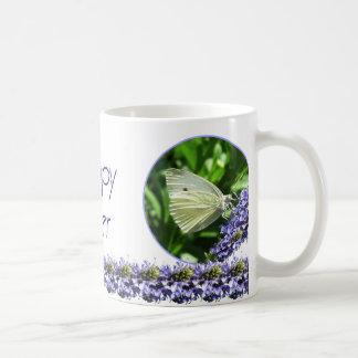 Glad påskfjärilsmugg kaffemugg