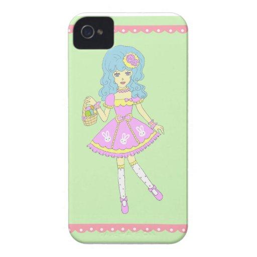 Glad påskflickagrönt iPhone 4 fodraler