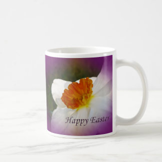 Glad påskpingstlilja - Springtimeskönhet Vit Mugg