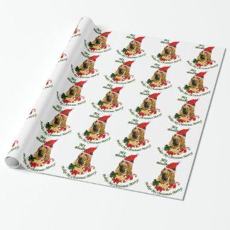 Glad spårhundjul presentpapper