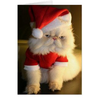 Glada CatMas Hälsningskort