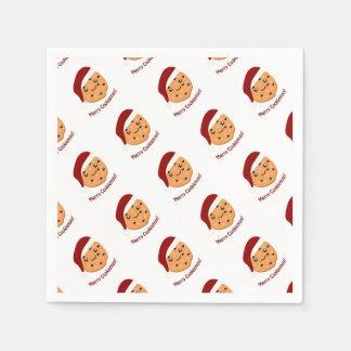 Glada Cookiemas Servett