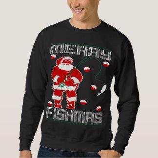 Glada Fishmas Santa Sweatshirt