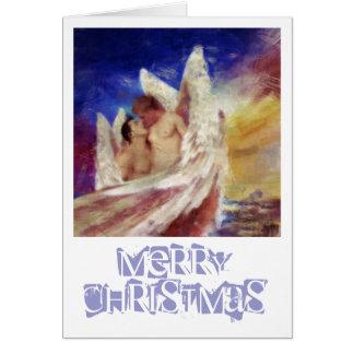 glada julkort hälsningskort