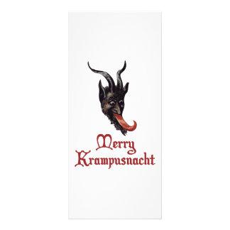 Glada Krampusnacht Reklamkort