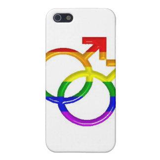 Glada symboler iPhone 5 cover