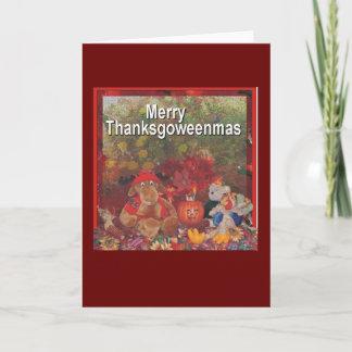 glada thanksgoweenmas helgkort