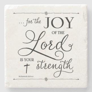Glädje av lorden - Nehemiah 8:10 Stenunderlägg