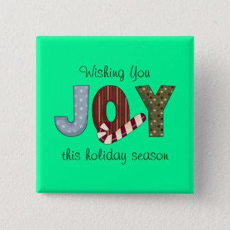 Glädje~Christmas~ Standard Kanpp Fyrkantig 5.1 Cm