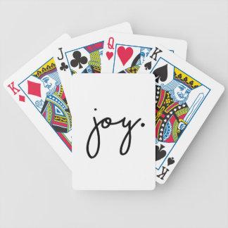 Glädje Spelkort