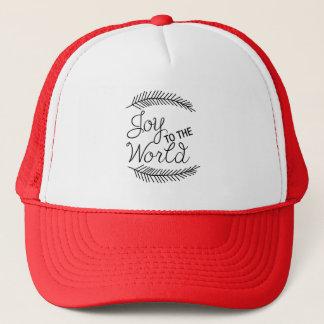 Glädje till världsjulhatten keps