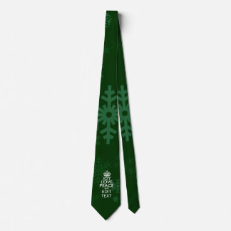 Glädjekärlekfred personifierade din slips
