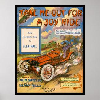 Glädjeritt Poster