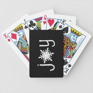 GlädjeSnowflake: Leka kort Spelkort
