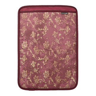 Gladlynt chic retro vintageblommigt sleeve för MacBook air