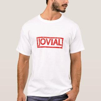 Gladlynt frimärke t shirts