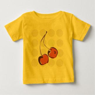 Gladlynt körsbär t-shirts