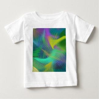 Gladlynt rolig färgabstrakt t shirt