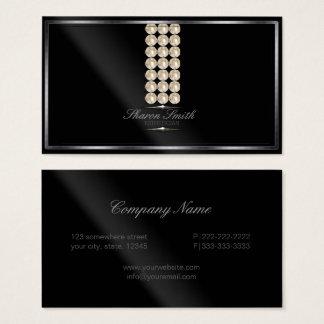 Glam pärlor verkställer ID346 Visitkort