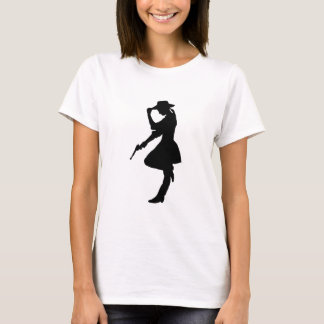 Glam vapenflickaCowgirl Tshirts