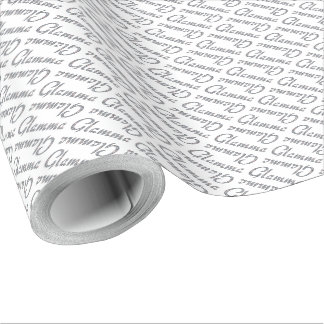 Glamma bling design presentpapper