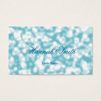 Glamorös modern elegantslätt för yrkesmässig faux visitkort