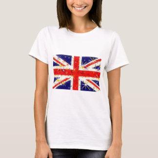 Glamour för UK-flaggaglitz Tröjor