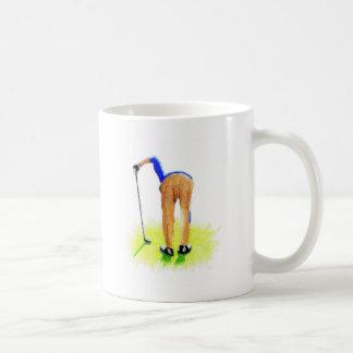 Glamouren av Golf Kaffemugg