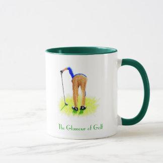 Glamouren av Golf Mugg