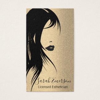 Glamourhår och Makeup Visitkort