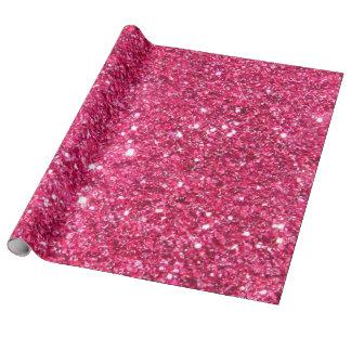 Glamourshock rosaglitter presentpapper