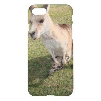 Glansigt fodral för känguruiPhone 7