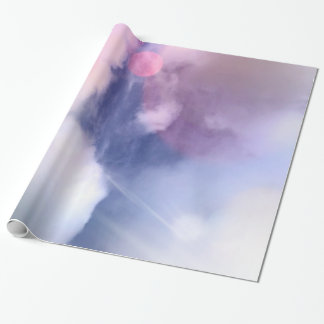 """Glansigt slående in papper för färgrik himmel, 30"""" presentpapper"""