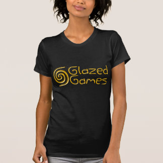 Glasad liten och nätt Tshirt för lekdamer T Shirts