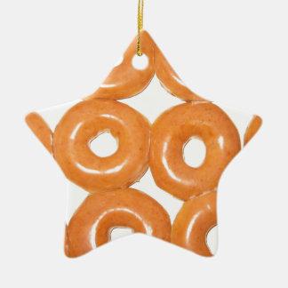 Glasade Donuts Julgransprydnad Keramik